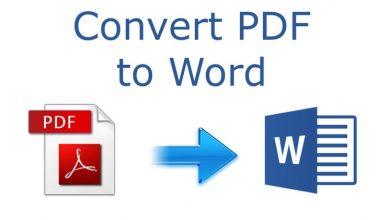 Photo of PDFBear: Stress-Free PDF to Word Conversion Process