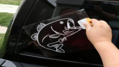 Photo of DIY car window stickers