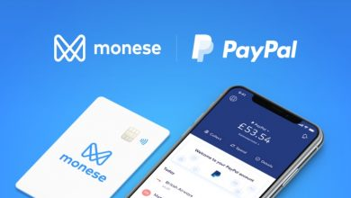 Photo of Monese with PayPal