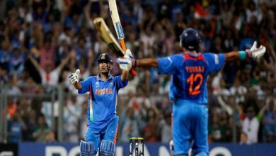 Photo of MS Dhoni came in front of Yuvraj Singh in WC 2011 last as he could peruse my doosra: Muttiah Muralitharan