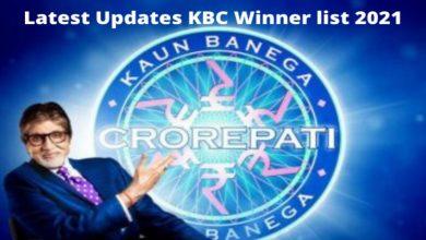 Photo of KBC Winner 2021 List with Latest Updates