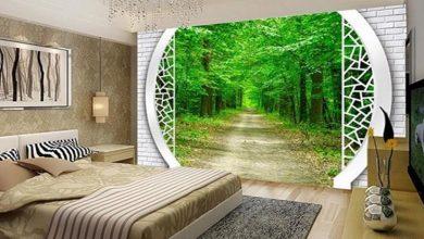 Photo of Фотообои для спальни: какие бывают и в чем их особенности